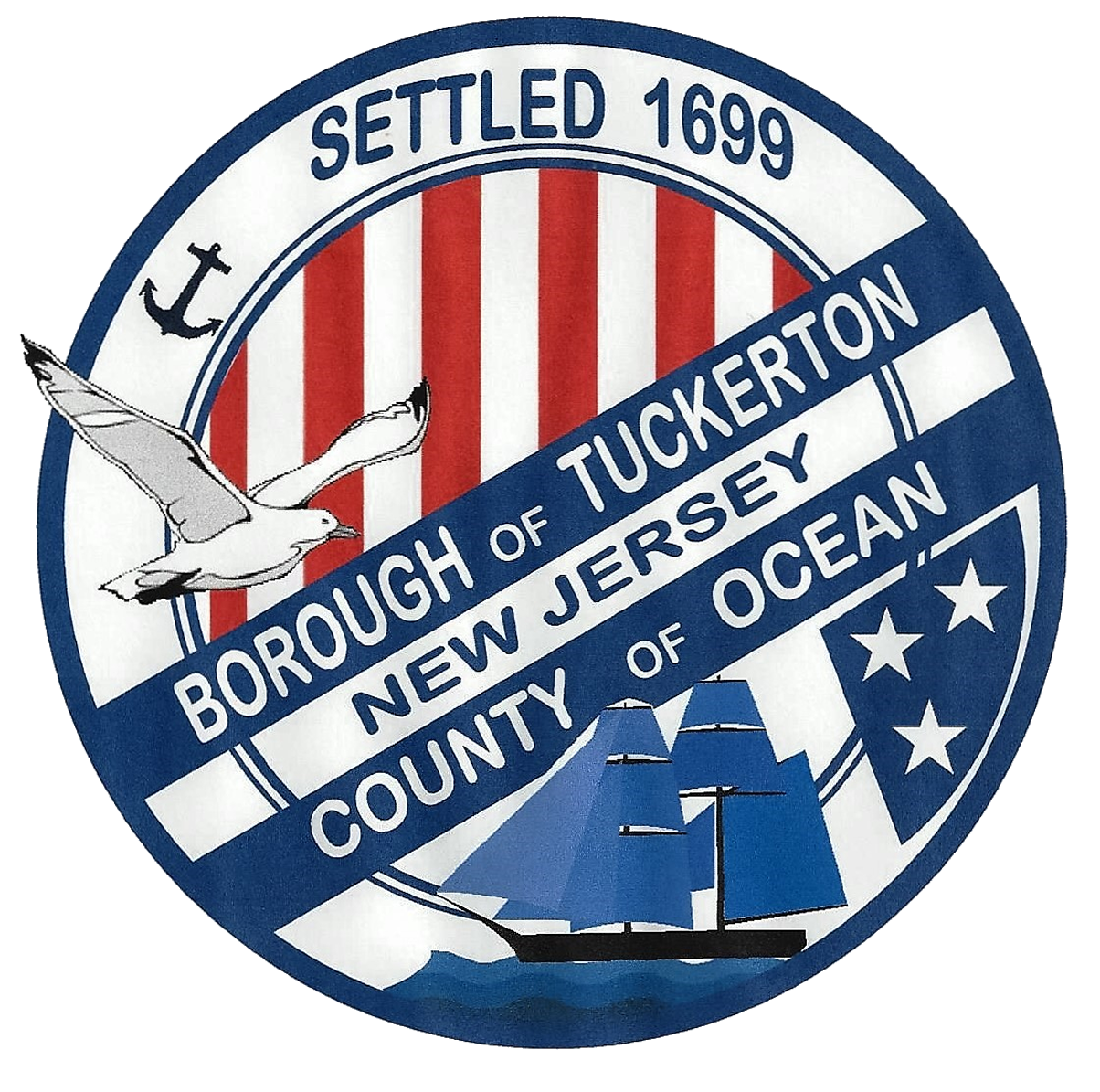 Borough of Tuckerton NJ Logo