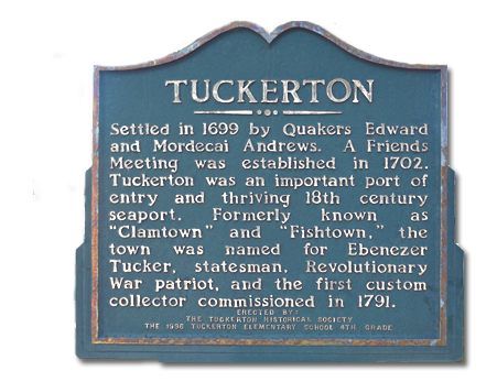 Tuckerton Sign Image